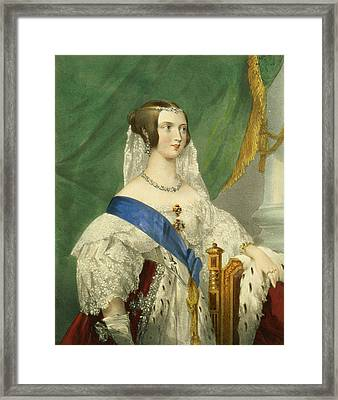 Her Most Gracious Majesty, Queen Framed Print by George Howard