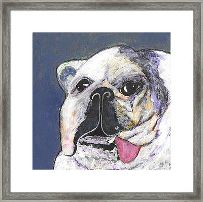 Her Name Is Lola Framed Print