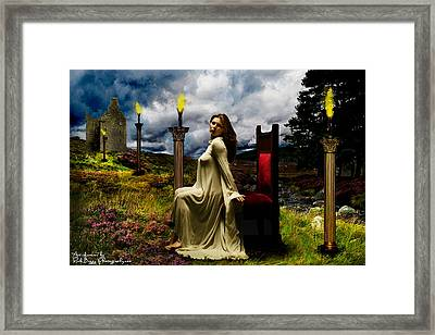 Her Royal Highness Framed Print by Rick Buggy