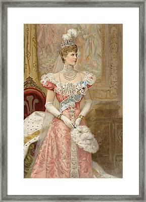 Her Royal Highness The Princess Framed Print