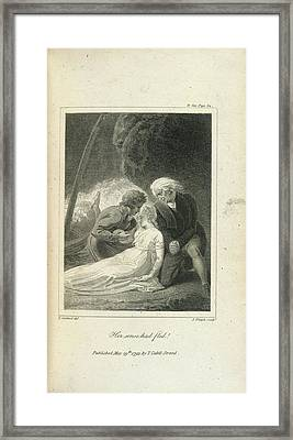 Her Senses Had Fled ! Framed Print by British Library