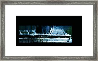 Her Watery Grave Framed Print by Theresa Tahara