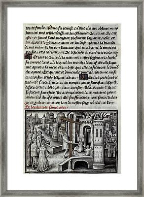 Heraclius (c575-641) Framed Print by Granger