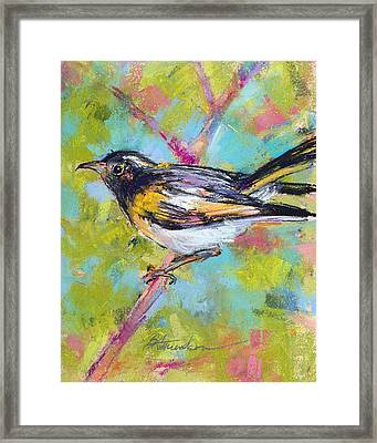 Herald Of Spring Framed Print by Beverly Amundson