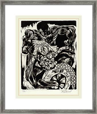Herbert Bennett, Untitled Frustration, American Framed Print