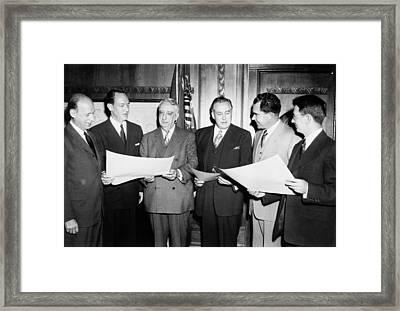 Herbert Brownell Attorney General Framed Print by Everett
