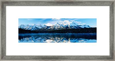 Herbert Lake, Banff National Park Framed Print