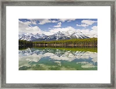 Herbert Lake Framed Print