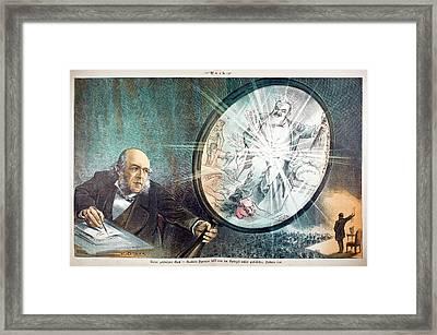 Herbert Spencer's Social Philosophy Framed Print by Paul D Stewart