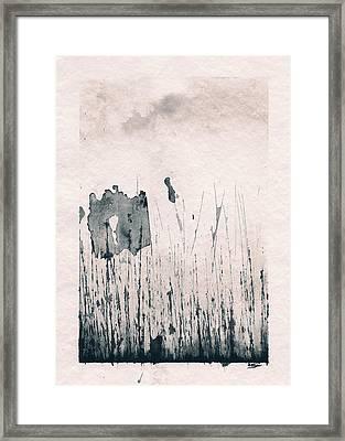 Herbes Souillees Framed Print