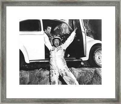 Herbie Goes To Monte Carlo  Framed Print