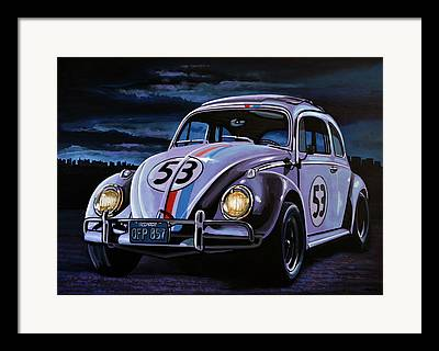 Love Bug Framed Prints