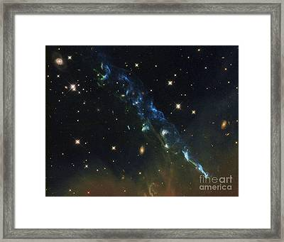Herbig-haro Object Hh 110 Framed Print by Science Source