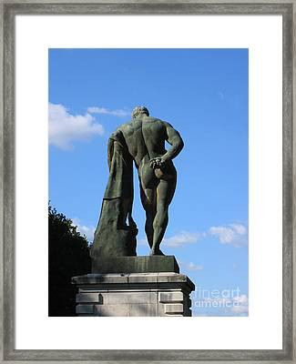 Framed Print featuring the photograph Hercules  by HEVi FineArt