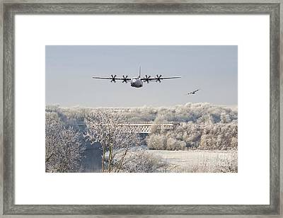 Hercules Framed Print by J Biggadike