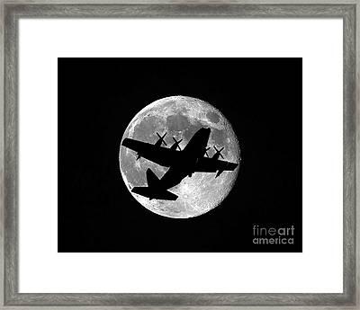 Hercules Moon Framed Print