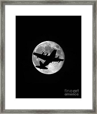Hercules Moon Vertical Framed Print by Al Powell Photography USA