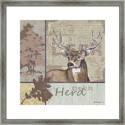 Herd Framed Print by Anita Phillips