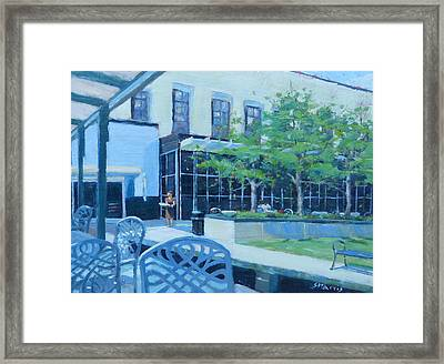 Here Comes Lunch Framed Print by Sandra Harris