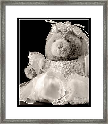 Here Comes The Bride Framed Print