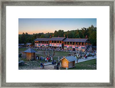 Here Comes The Knights Framed Print