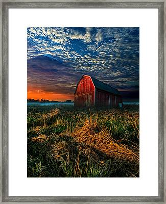 Here Comes The Light Framed Print