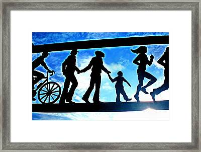 Here Comes The Sun Framed Print by Bill Noonan