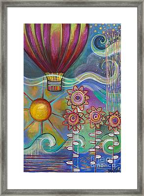 Here Comes The Sun Framed Print by Carla Bank
