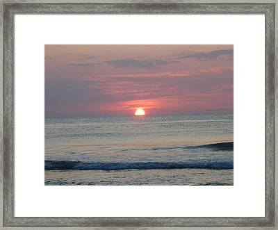 Here Comes The Sun Framed Print by Deborah May