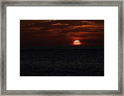 Framed Print featuring the photograph Here Comes The Sun by Greg Graham