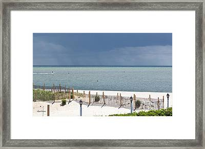 Here Comes The Sun Framed Print by Michelle Wiarda