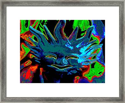 Here Comes The Sun Framed Print by Rebecca Flaig