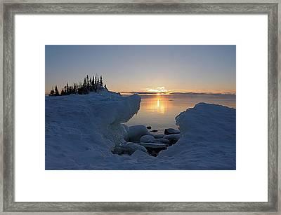 Here Comes The Sun Framed Print by Sandra Updyke