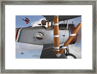 Here Comes Trouble 2 Framed Print