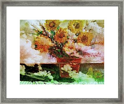 Here Comes The Sun Framed Print by Rick Todaro