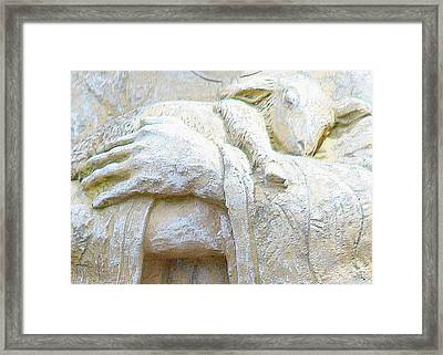 Framed Print featuring the photograph Here I Am Lord by The Art Of Marilyn Ridoutt-Greene