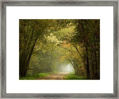 Here I Will Abide Framed Print