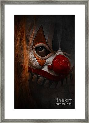 Here Is Framed Print