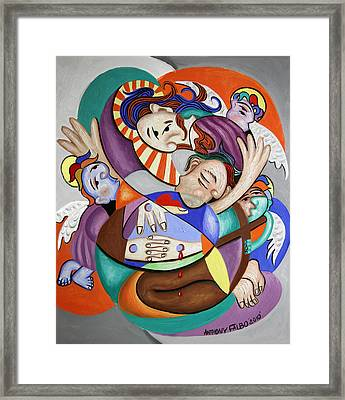 Here My Prayer Framed Print by Anthony Falbo