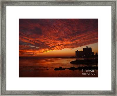 Here She Comes Framed Print by Laurence Oliver
