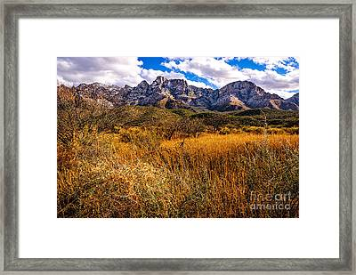 Here To There Framed Print by Mark Myhaver