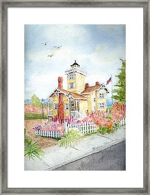 Hereford Inlet Lighthouse Framed Print