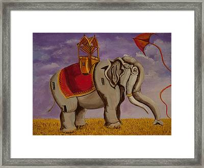 Here's Lucy Framed Print by Susan Culver