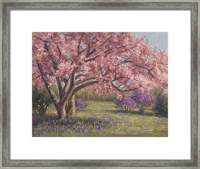 Here's The Spring Framed Print by Lucie Bilodeau