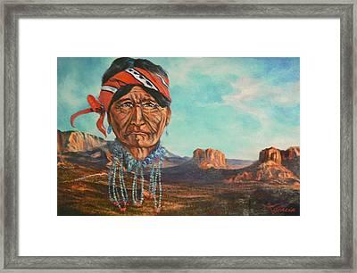 Heritage Landscape Framed Print by Gracia  Molloy