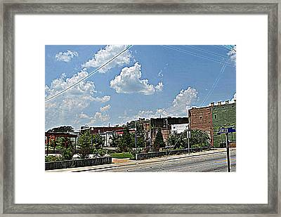 Heritage Park Framed Print by Beverly Hammond