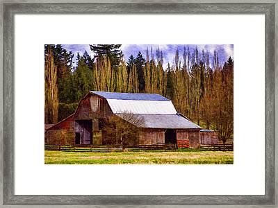 Heritage Remembered Framed Print by Jordan Blackstone