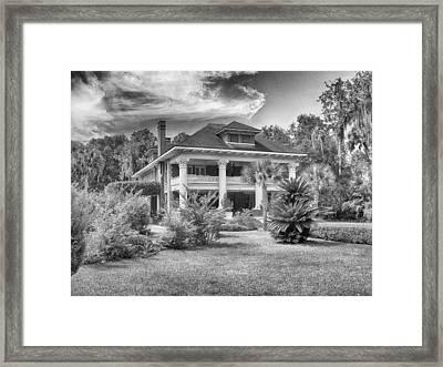 Herlong Mansion Framed Print