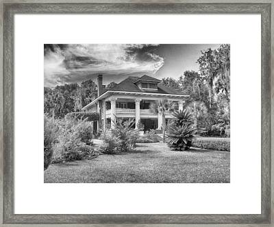 Herlong Mansion Framed Print by Howard Salmon