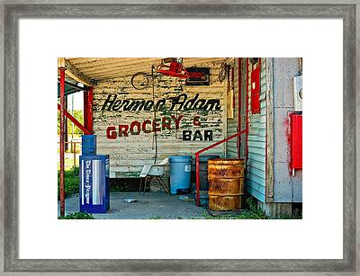 Herman Had It All Framed Print by Steve Harrington